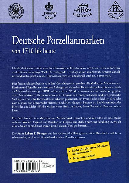 Fachbuch Thüringer Porzellan Geschichte Fabriken und Erzeugnisse Nachschlagewerk