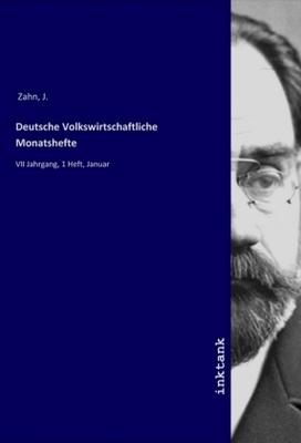 Deutsche Volkswirtschaftliche Monatshefte - R. Williams,