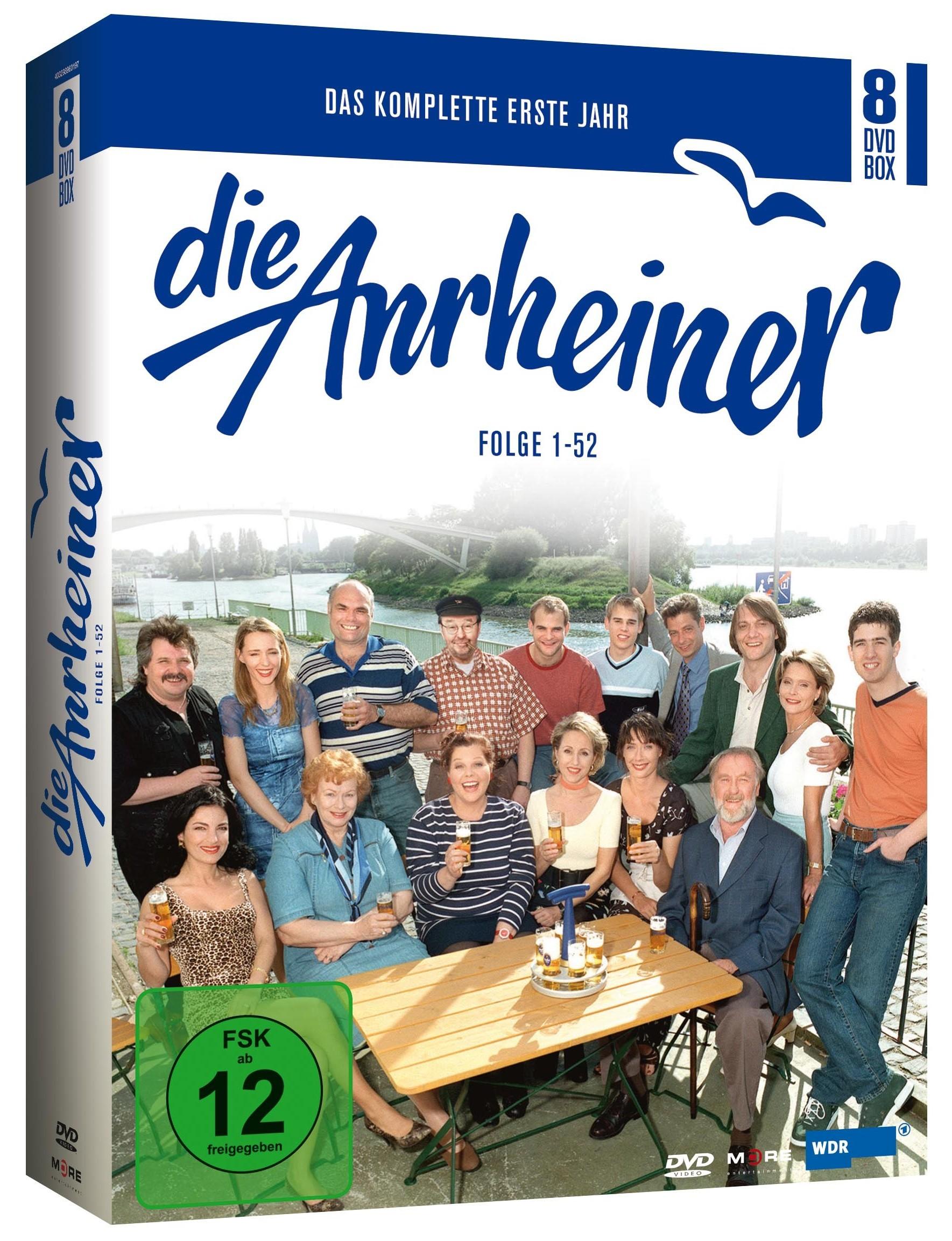 Image of Die Anrheiner - Das erste Jahr