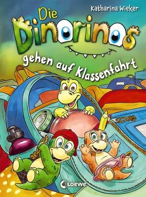 Die Dinorinos gehen auf Klassenfahrt / Die Dinorinos Bd.5 - die sich schon bald davonschleichen und neugierig alles erkunden. Dabei entdecken die Dinos ein geheimes Zimmer und einen ganz besonderen Schatz!Spiel
