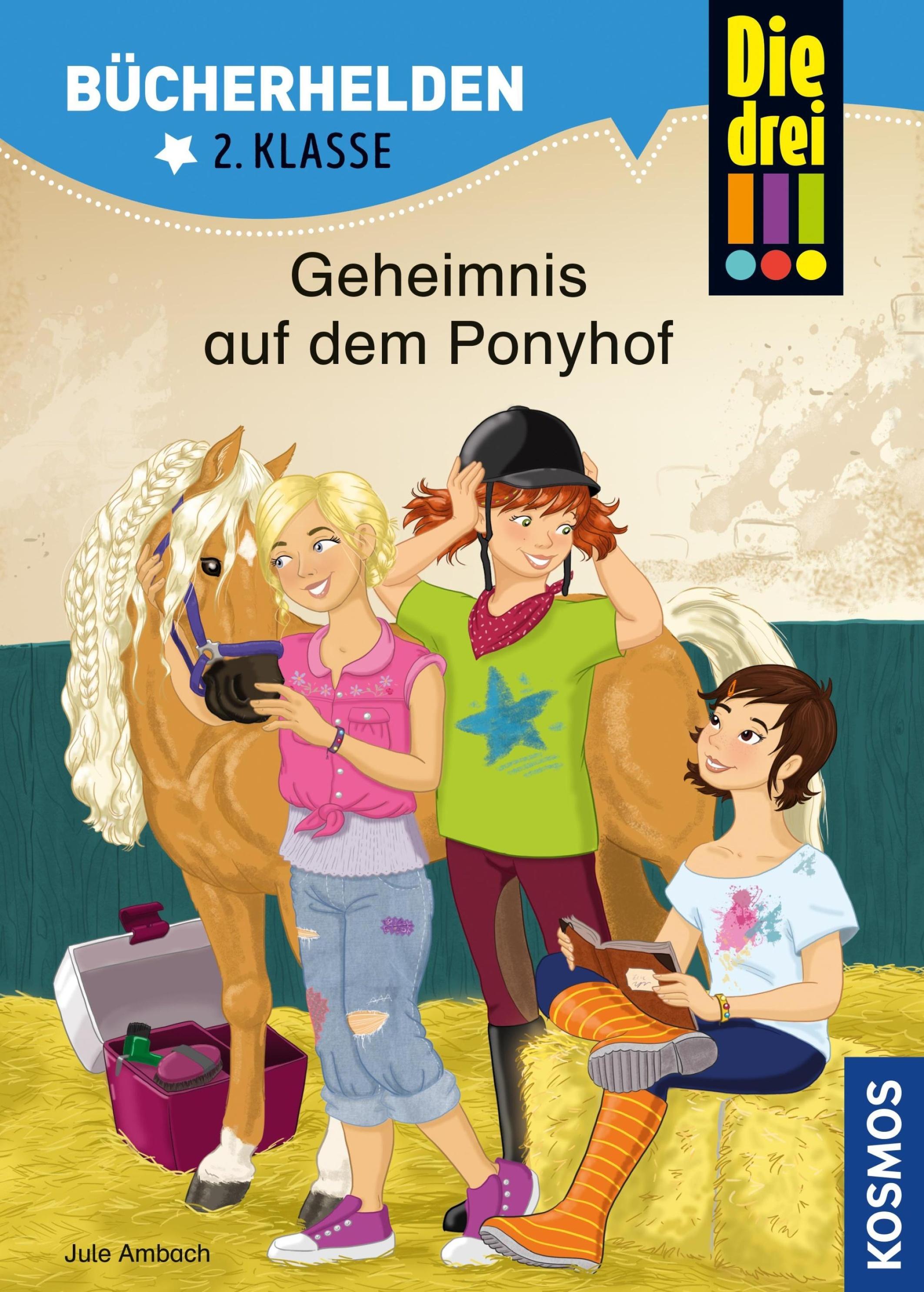 Die Drei Bucherhelden 2 Klasse Geheimnis Auf Dem Ponyhof Drei Ausrufezeichen Bucherhelden Ebook Weltbild De