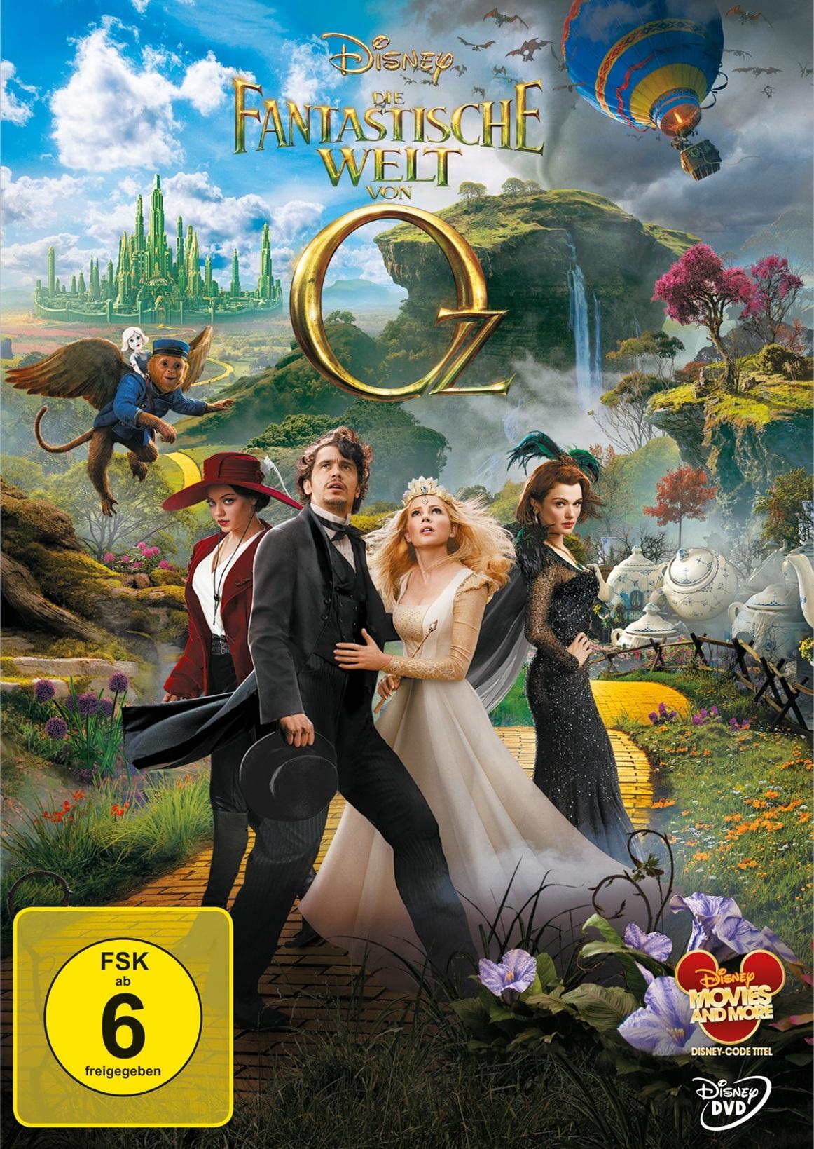 Die Fantastische Welt Von Oz Dvd Bei Weltbild Ch Bestellen