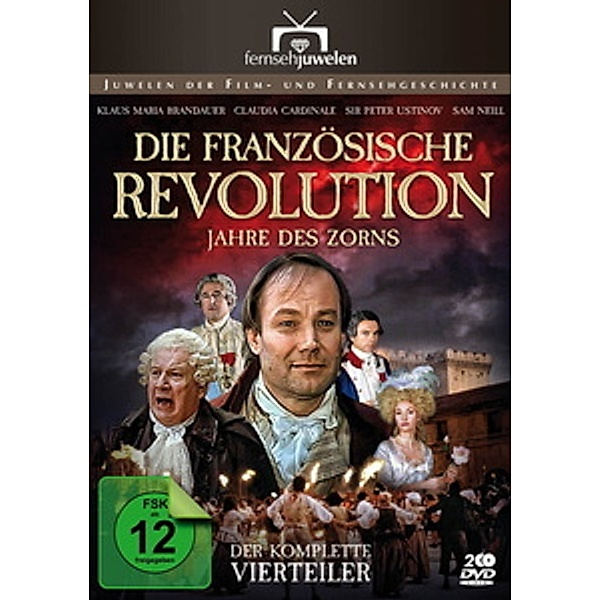 Die Französische Revolution Jahre Des Zorns Der Komplette Vierteiler Film Weltbild De