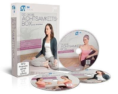 Image of Die große Achtsamkeits-Box, 1 DVD m. 2 Audio-CDs