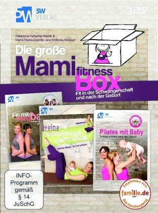 Image of Die große Mamifitness-Box, 3 DVDs
