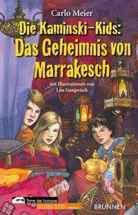 Die Kaminski-Kids - Das Geheimnis von Marrakesch - wo die Kids ihre Herbstferien verbringen. In den verwinkelten Gassen lernen sie schon bald den Jungen Abdel und das Mädchen Saida kennen. Als in ihrer Nähe ein verlassenes Baby auf der Stra�e gefunden wird
