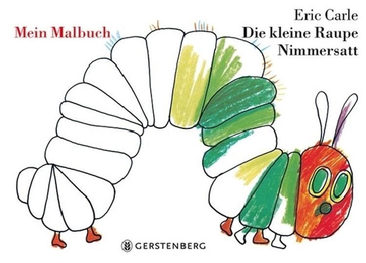 Die Kleine Raupe Nimmersatt Mein Malbuch Buch Versandkostenfrei