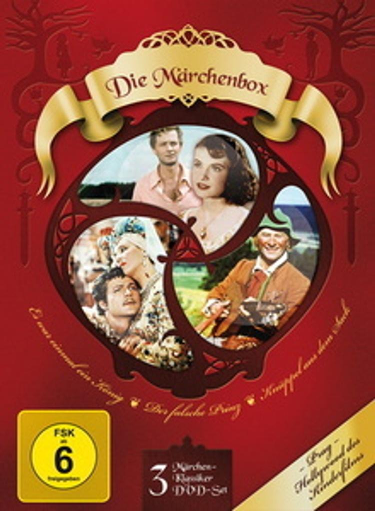 Die Märchen Box DVD jetzt bei Weltbild.de online bestellen
