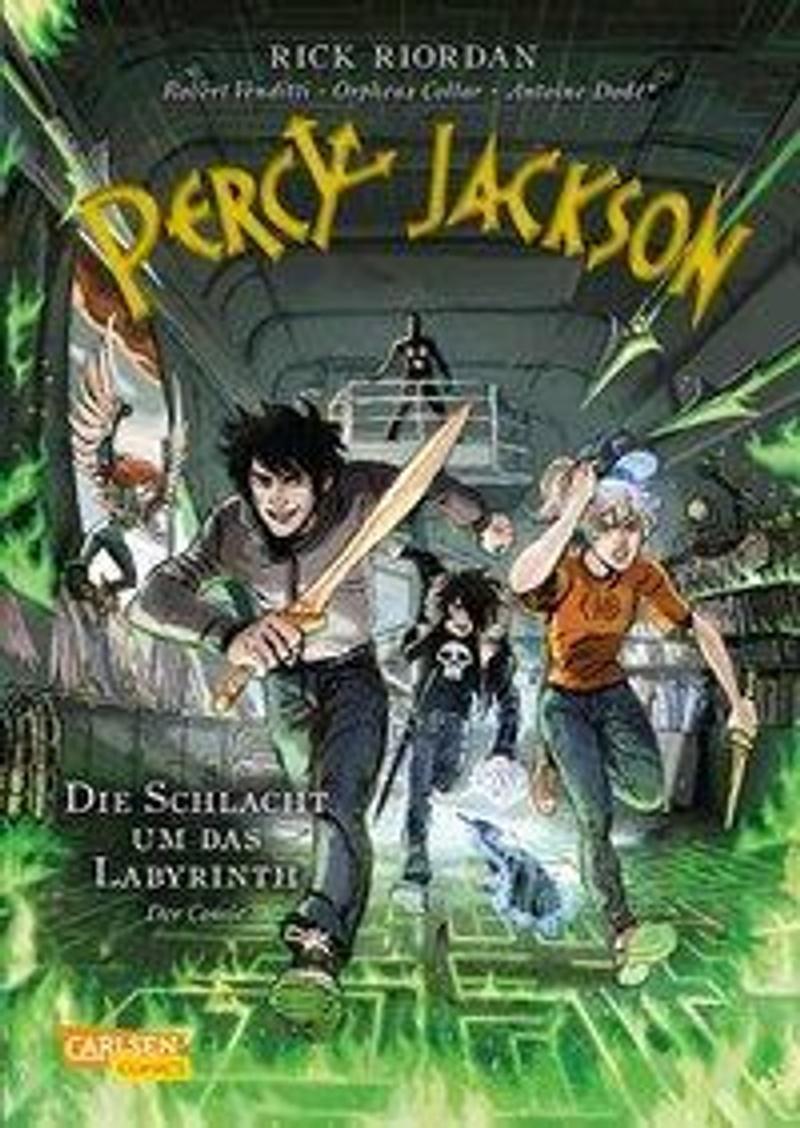 Die Schlacht Um Das Labyrinth Percy Jackson Comic Bd.4 | Weltbild.at
