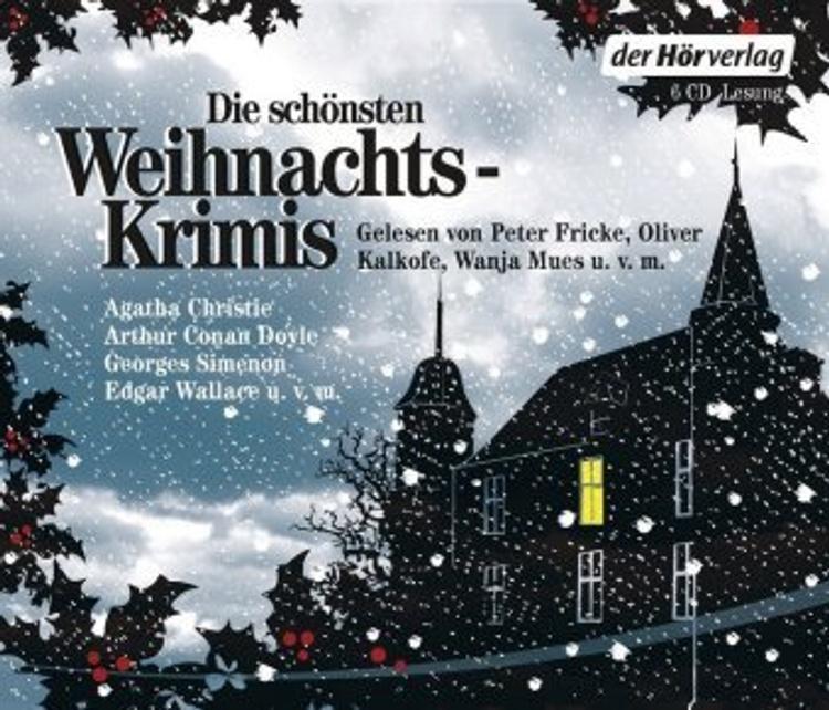 Die Schonsten Weihnachtskrimis 6 Audio Cds Horbuch Weltbild De