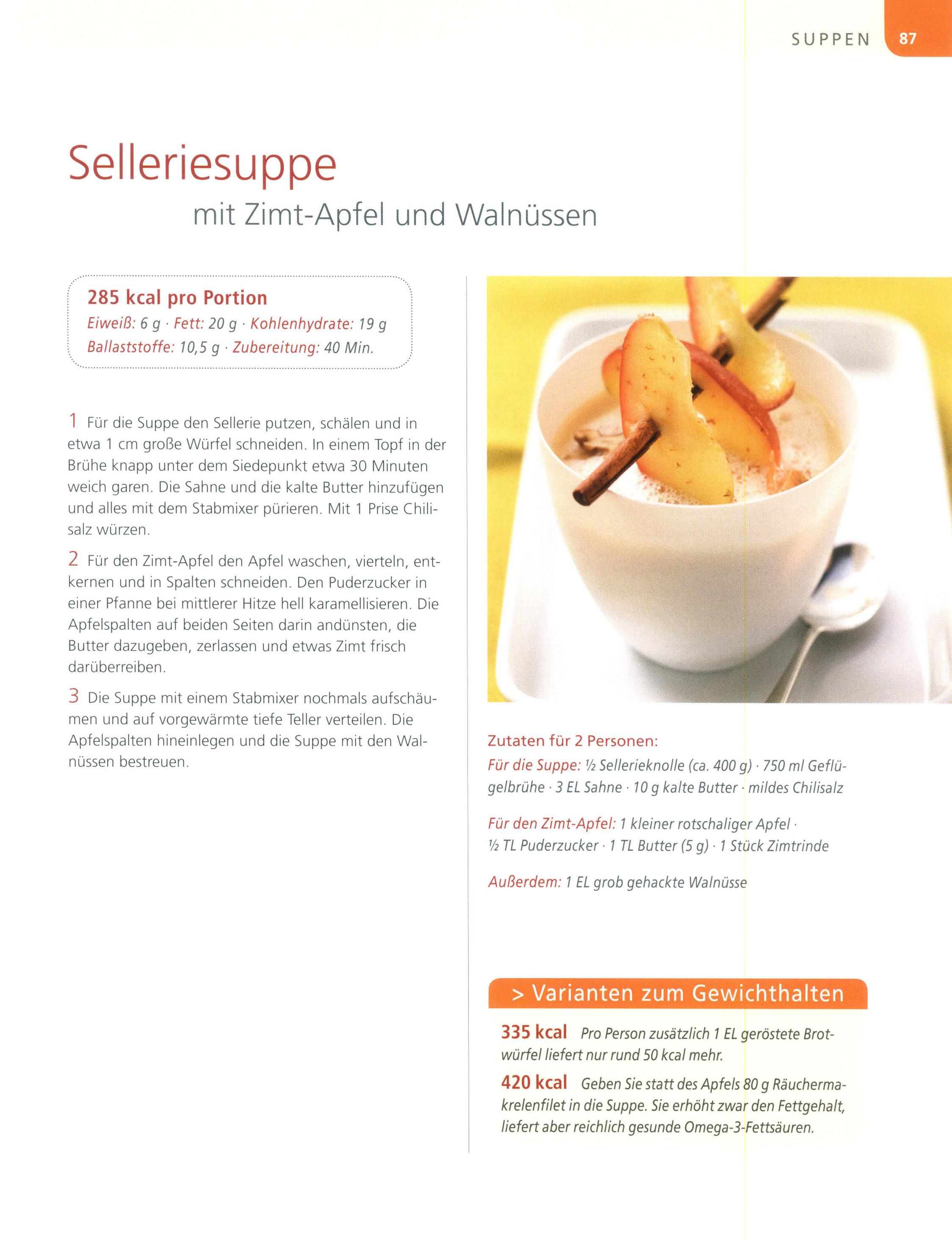 Sellerie Brühe Rezept zur Gewichtsreduktion