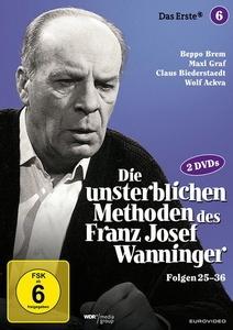 Image of Die unsterblichen Methoden des Franz Josef Wanninger