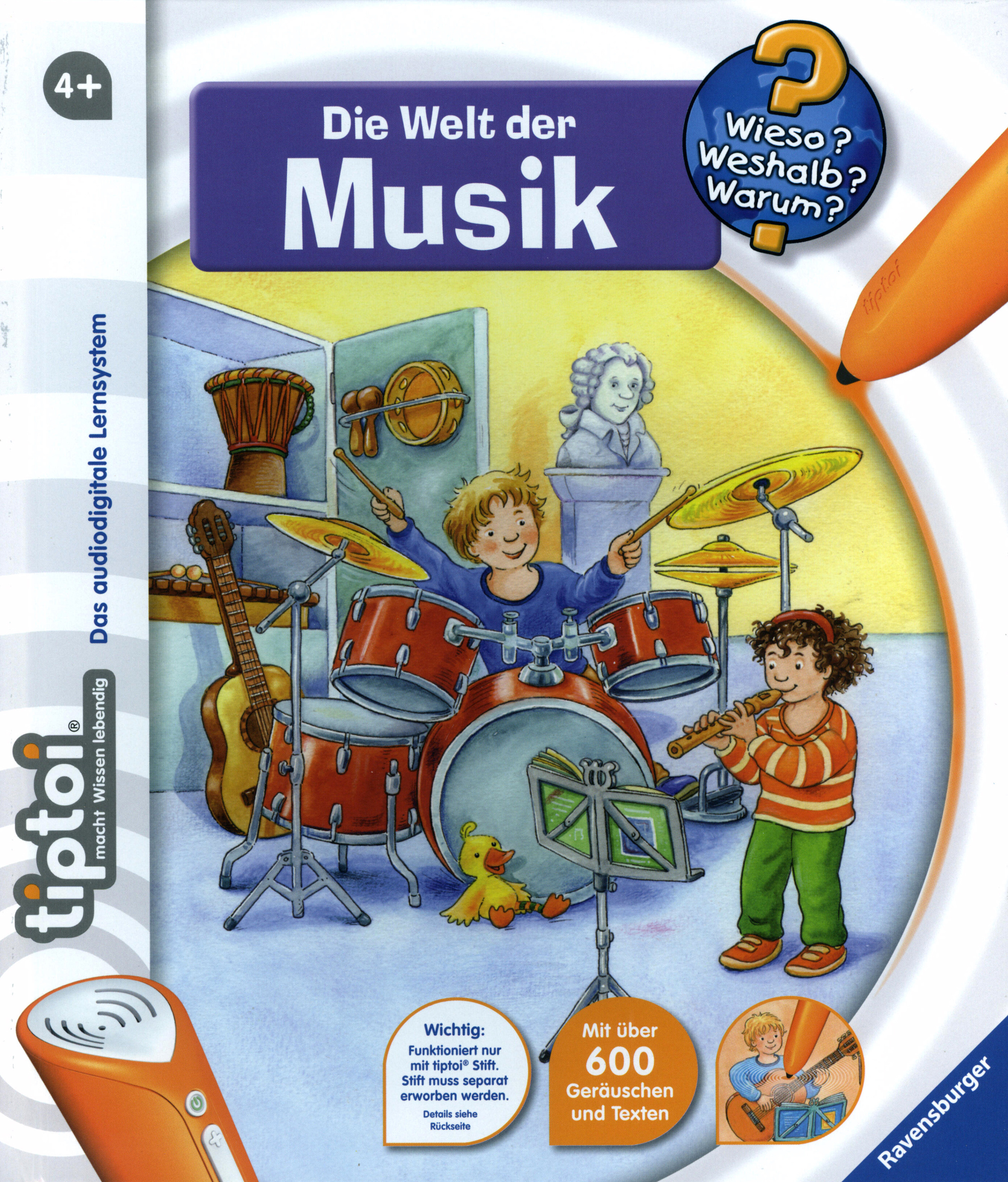 Die Welt der Musik Wieso? Weshalb? Warum? tiptoi® Bd.3 Buch