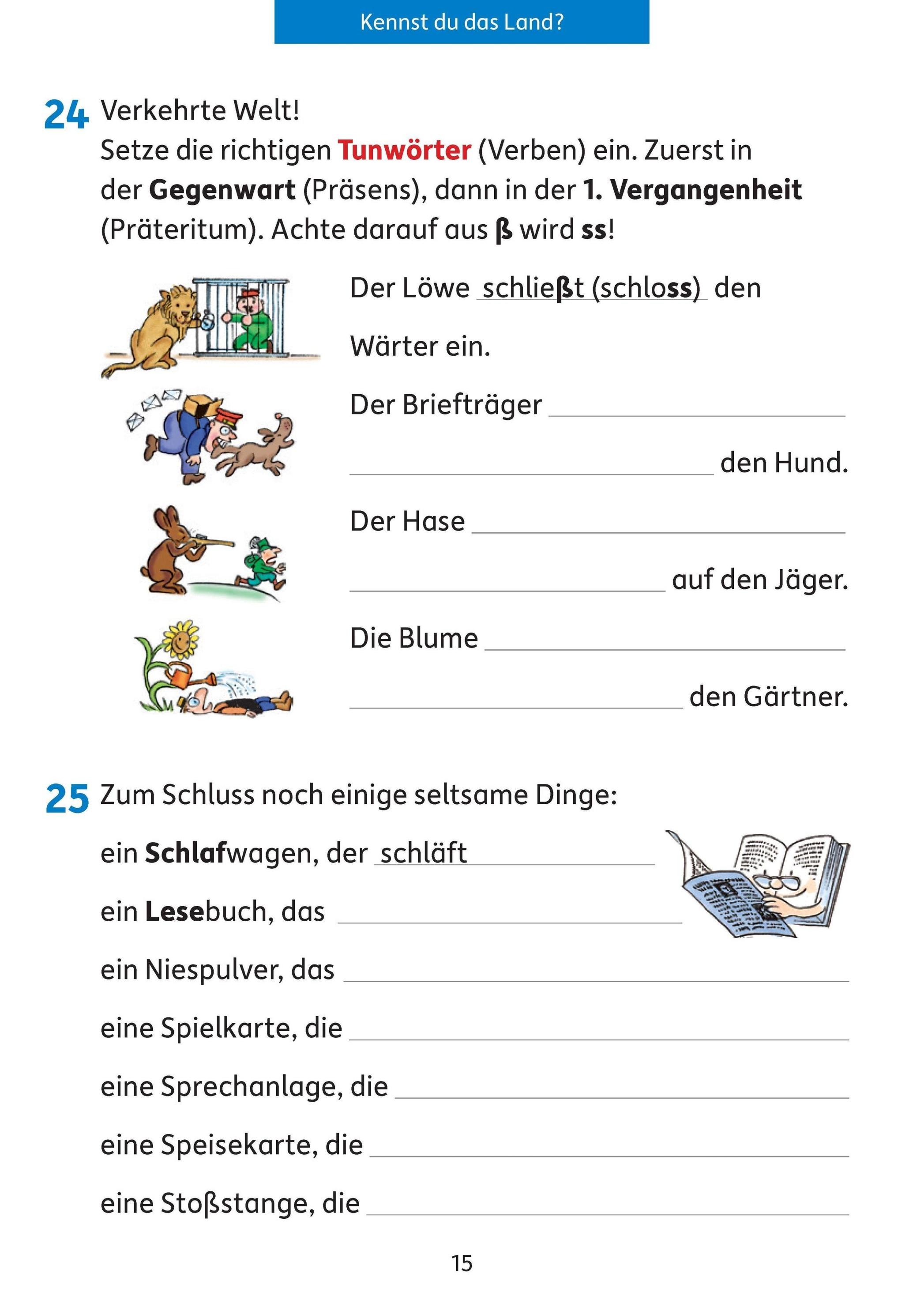 Deutsch 3 Klasse