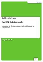 Diplom.de: Der CO2-Emissionshandel - eBook - Karl Freudenthaler,