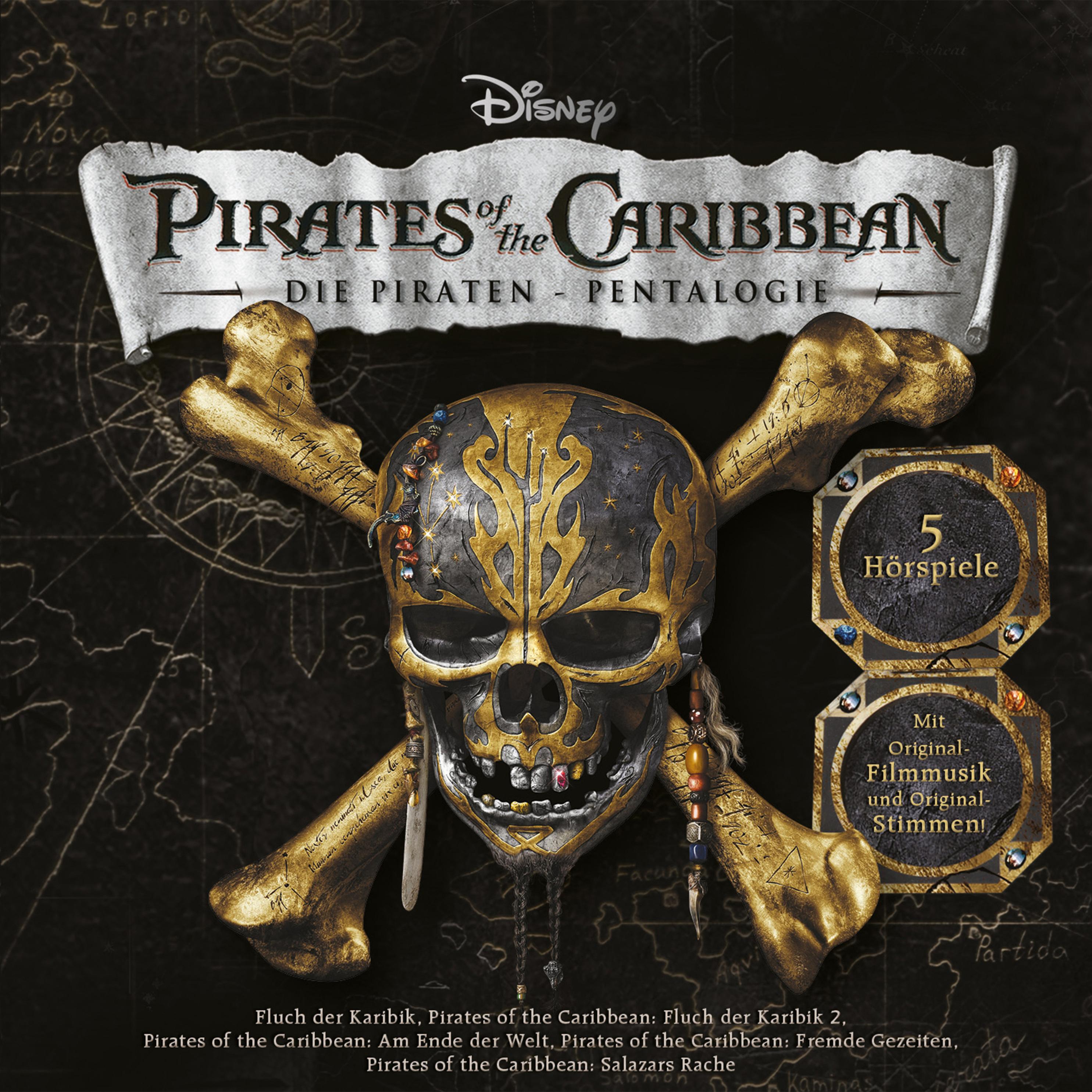 Disney Fluch Der Karibik 5er Box Horbuch Download Weltbild Ch