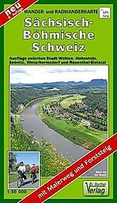 Doktor Barthel Karte Sächsisch-Böhmische Schweiz.  - Buch