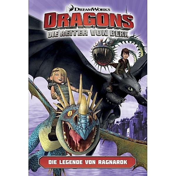 Dragons reiter von berg nackt