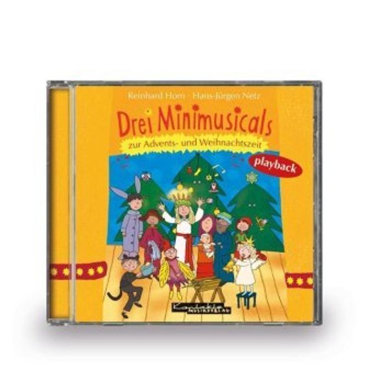 Drei Minimusicals zur Advents- und Weihnachtszeit, 1 Audio ...