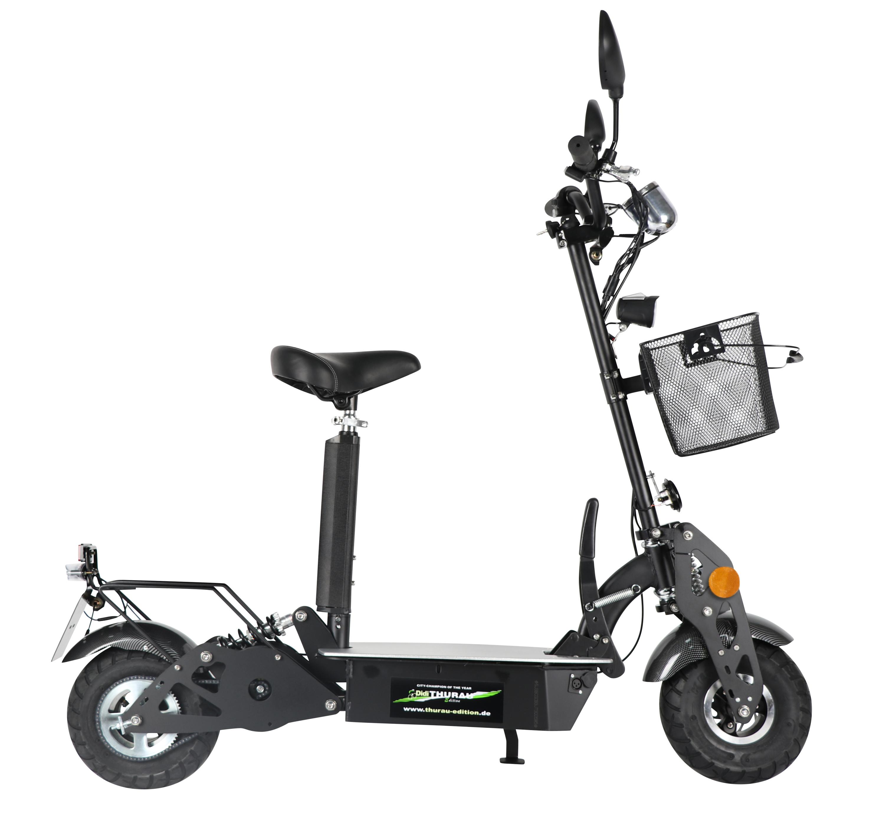 Dte Elektro City Roller Basic Mit Korb Weltbild De