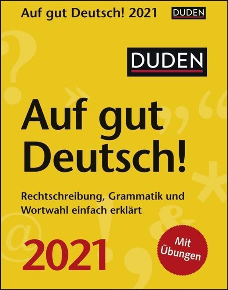 duden auf gut deutsch! 2021