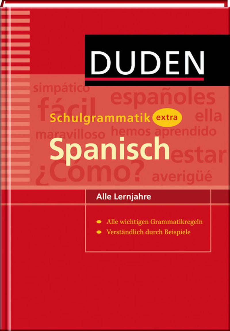 duden - schulgrammatik extra spanisch