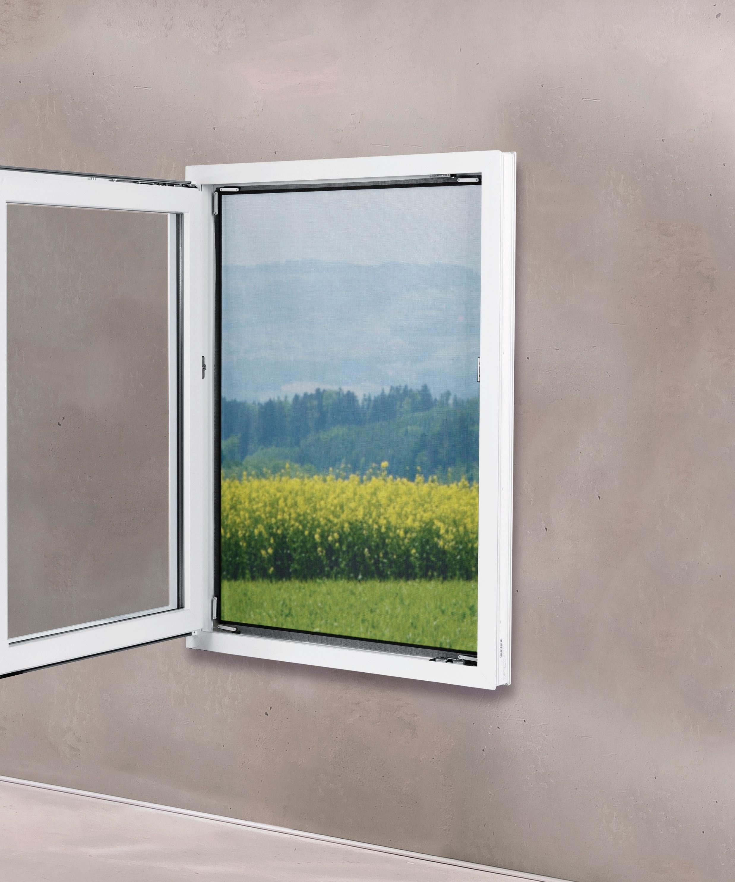 Easymaxx Fenster Moskitonetz Magic Klick Insektenschutz Magnetfenster Schwarz 150x130 Cm Bei Hornbach Kaufen
