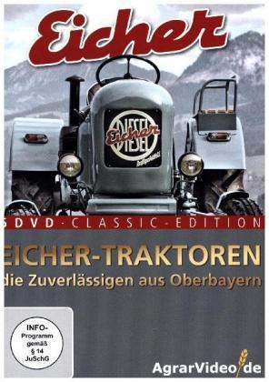 Image of Eicher Traktoren: Die Zuverlässigen aus Oberbayern, 5 DVD