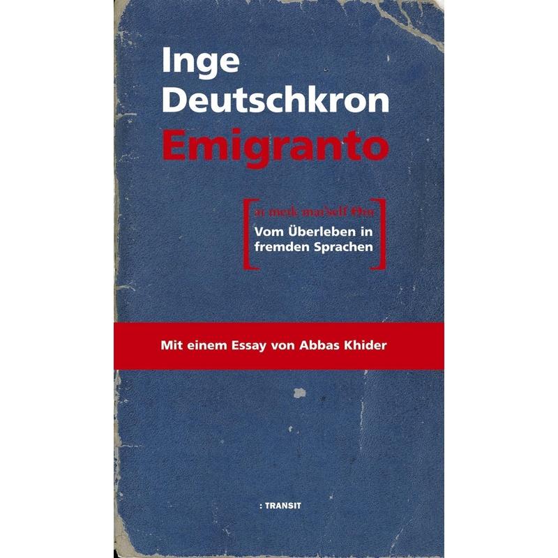 Emigranto - Inge Deutschkron