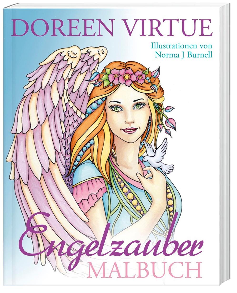 Engelzauber Malbuch Buch Von Doreen Virtue Versandkostenfrei Weltbild De