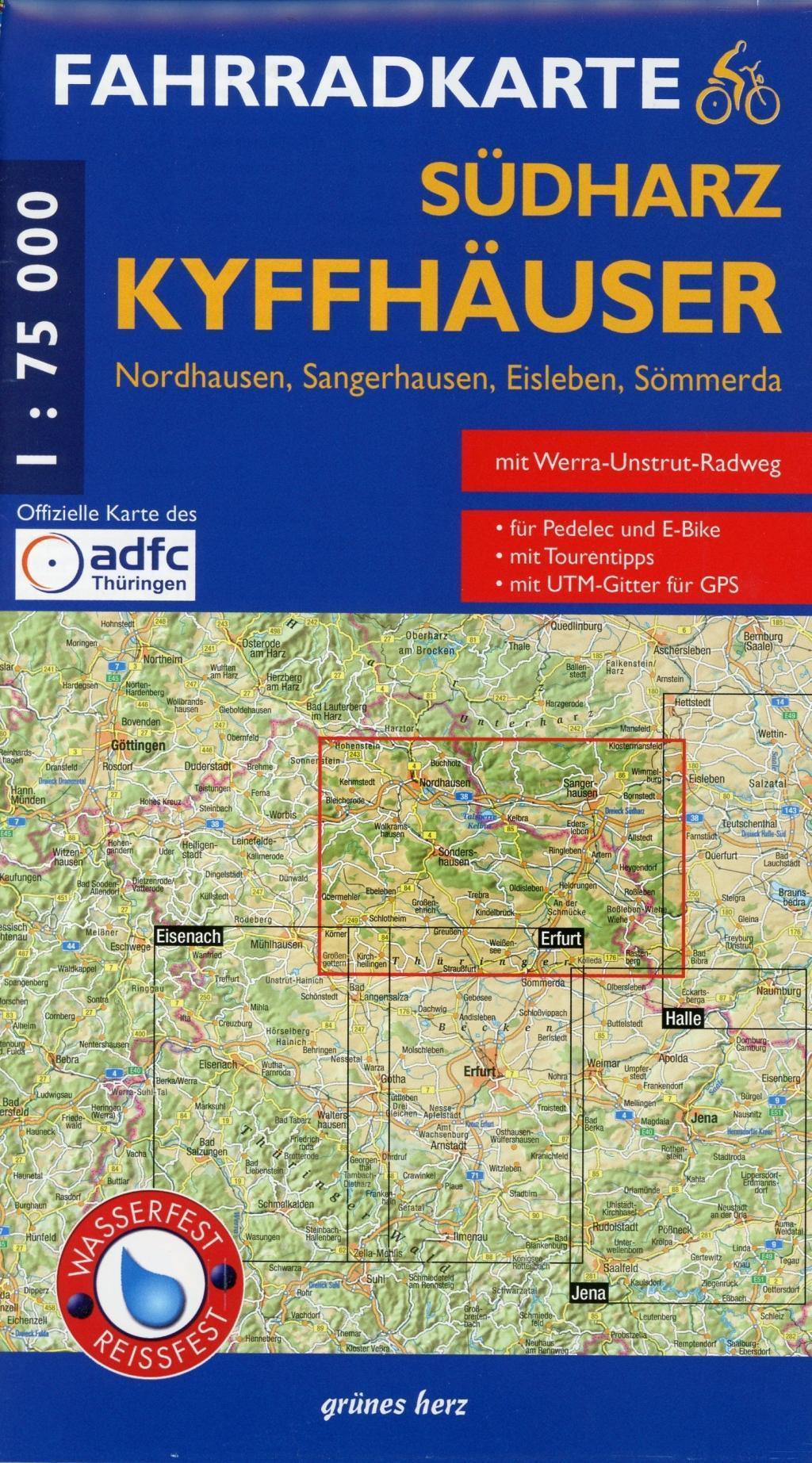 ADFC Radtourenkarte 22 Fränkische Alb Altmühltal 1:150.000