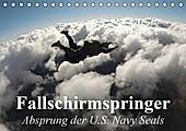 Fallschirmspringer. Absprung der U.S. Navy Seals (Tischkalender 2021 DIN A5 quer) - Kalender - Elisabeth Stanzer,