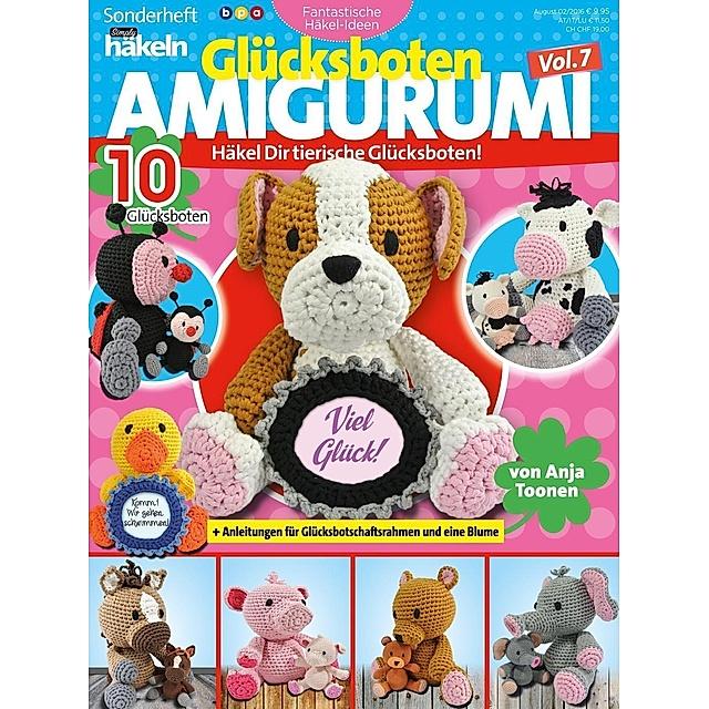 Hab-mich-lieb-Hase Amigurumi Häkelanleitung (Große Puppen zum ... | 640x640