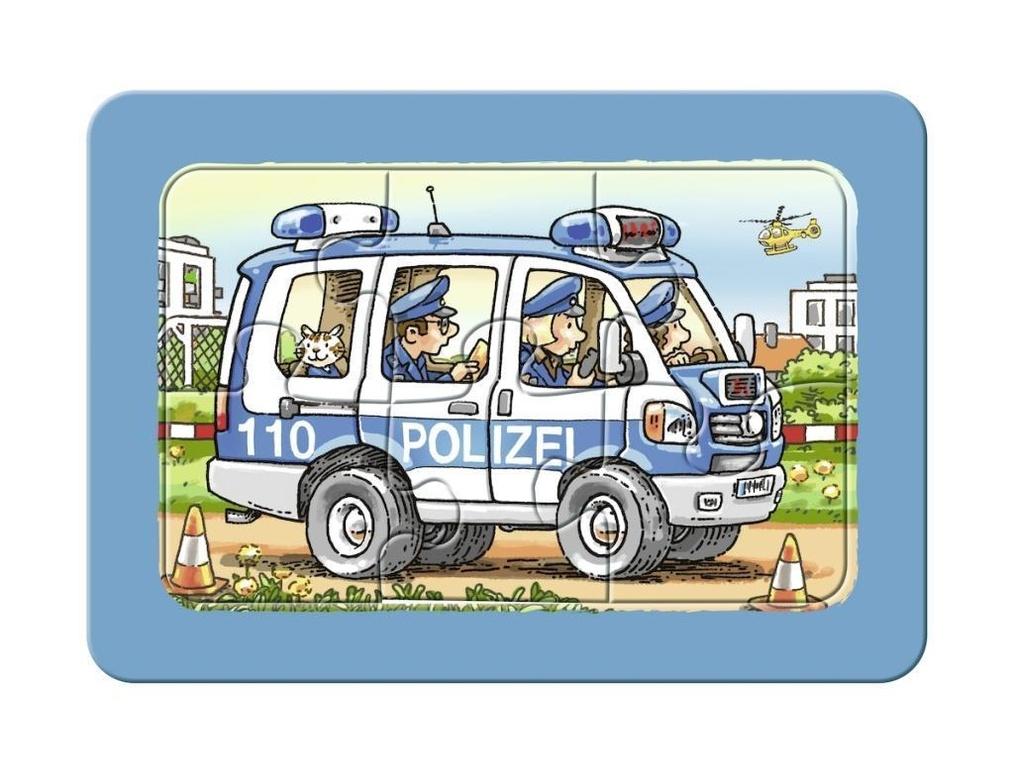 feuerwehr polizei krankenwagen rahmenpuzzle  weltbildch