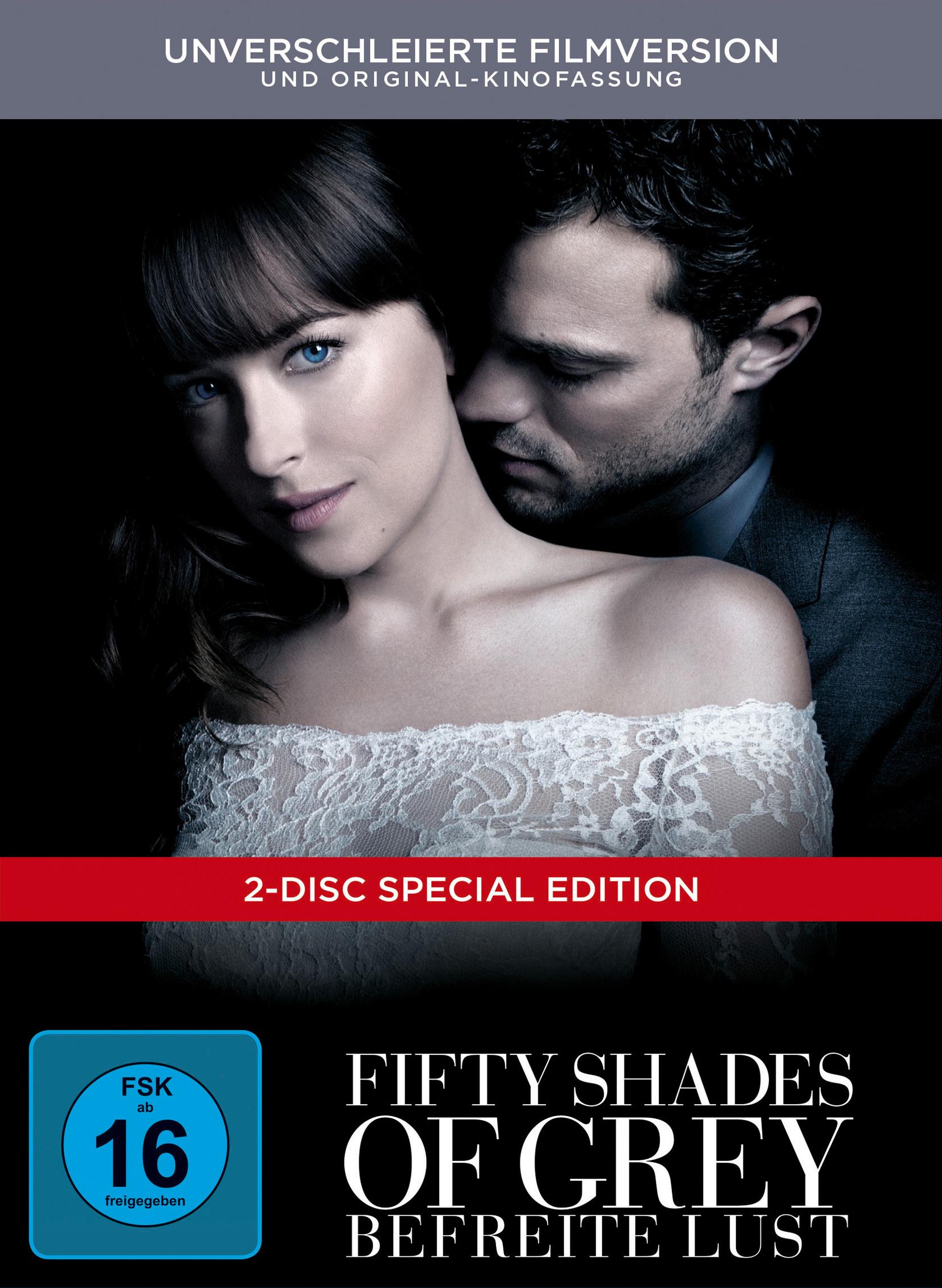 Fifty Shades of Grey 3: Befreite Lust - Digibook Film
