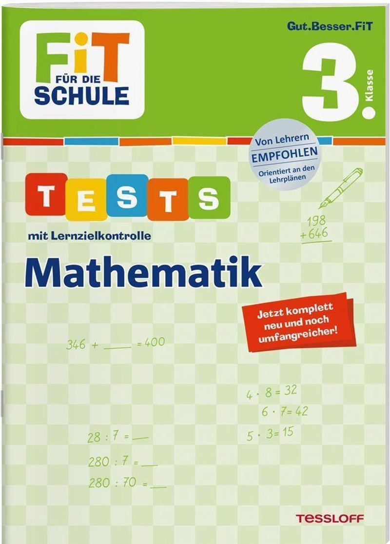 FiT FÜR DIE SCHULE. Tests mit Lernzielkontrolle. Mathematik 20. Klasse