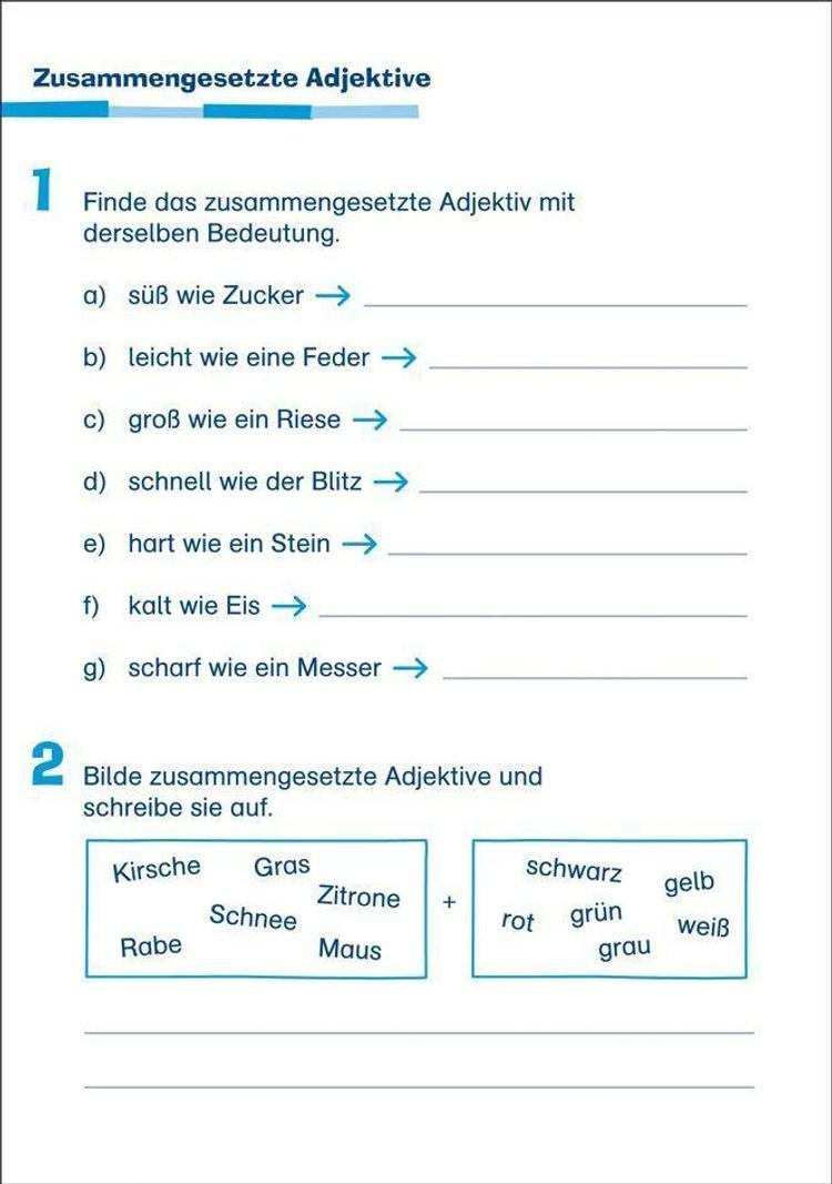 Abfrager 4 Klasse Deutsch
