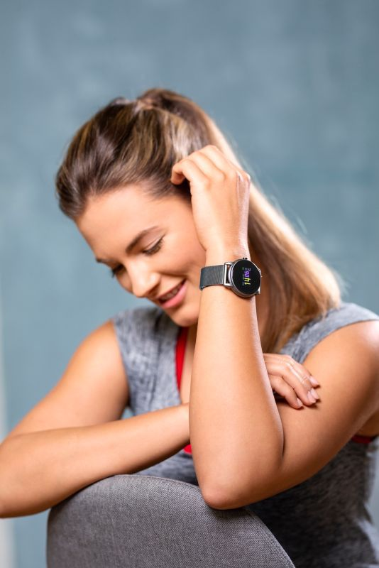 fitness uhr von weltbild armband wechseln