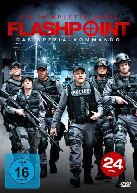 Image of Flashpoint - Das Spezialkommando: Die komplette Serie