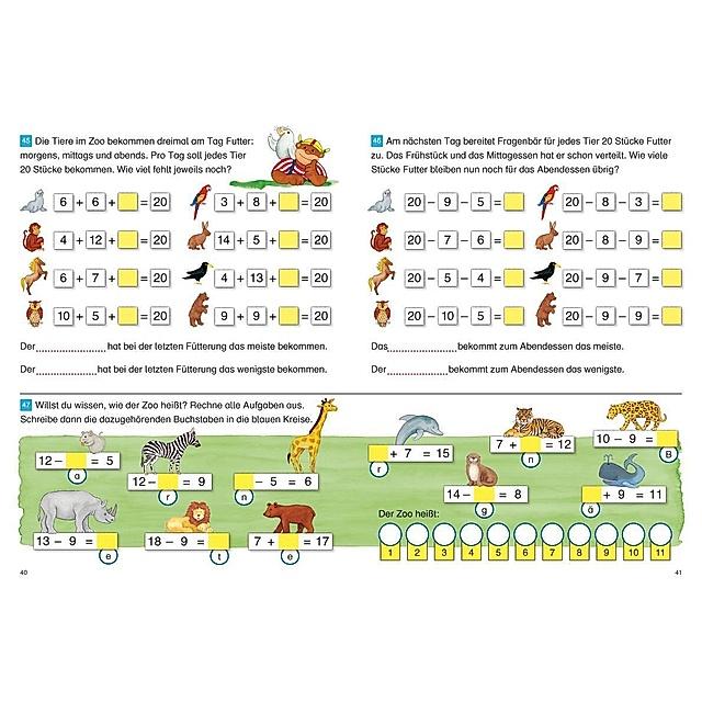 Fragenbär: Richtig rechnen 1. Klasse Buch