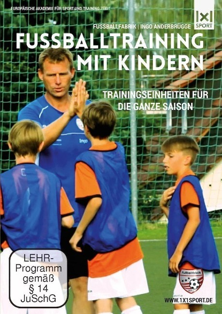Image of Fußballtraining mit Kindern, 1 DVD
