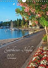 Gardasee Idylle 2021 (Wandkalender 2021 DIN A4 hoch) - Kalender