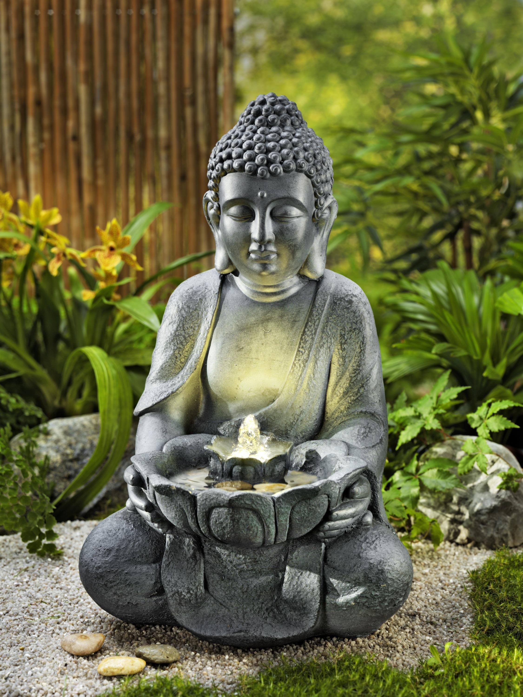 4 Servietten ~ Buddha in Meditation mit Lotusblüten Asien