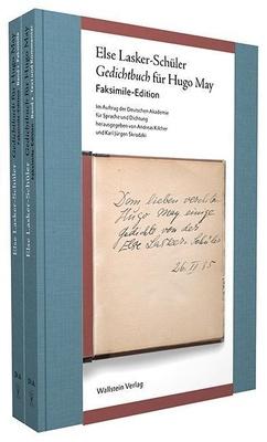 Gedichtbuch für Hugo May, 2 Bde. - Else Lasker-Schüler,