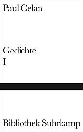 Gedichte in zwei Bänden. Paul Celan, - Buch - Paul Celan,