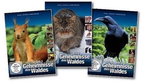 Image of Geheimnisse des Waldes 1-3, 3 DVDs