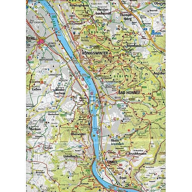 Geomap Karte Freizeitregion Koln Bonn Und Umgebung Jetzt Kaufen