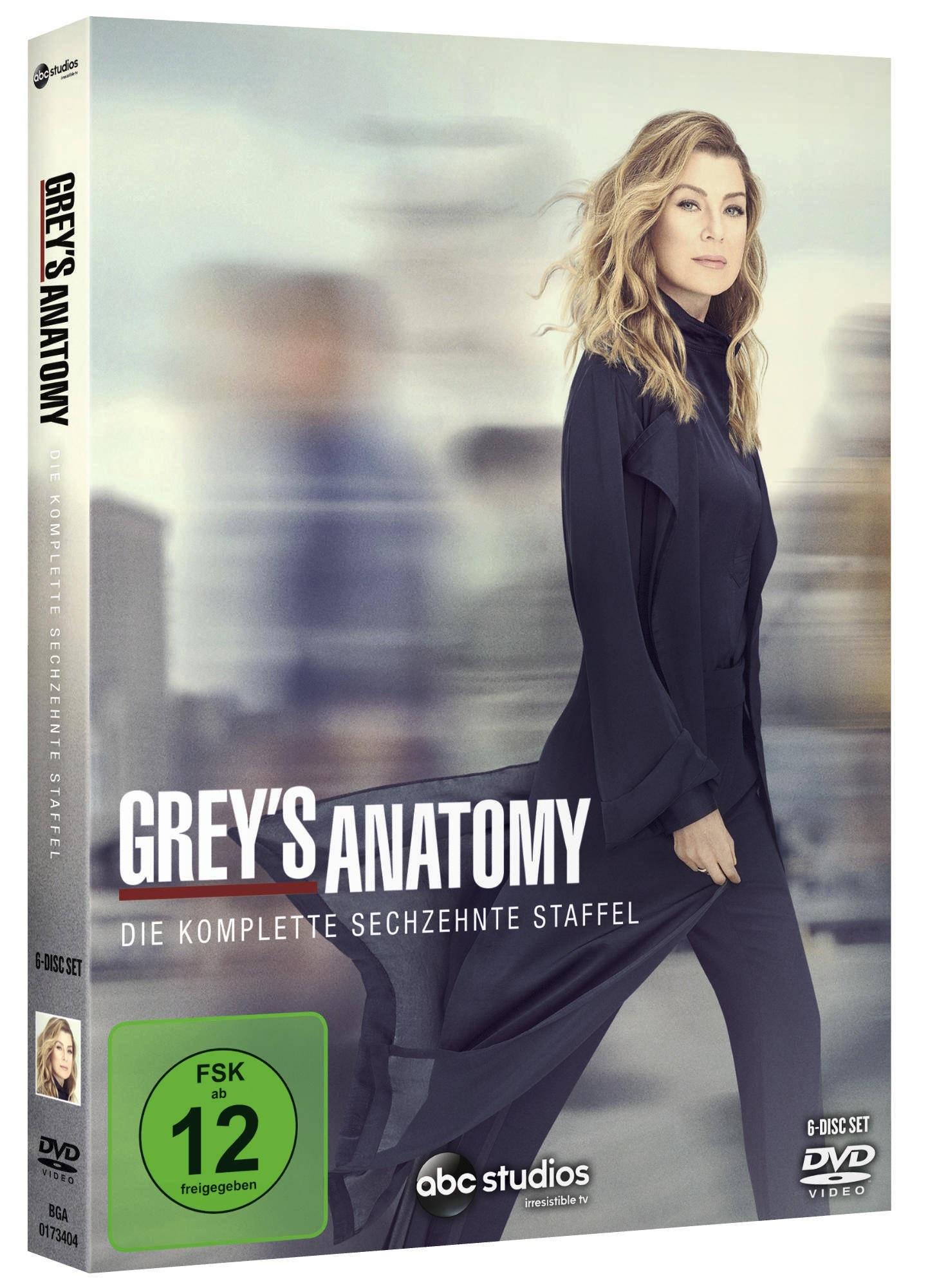 Image of Grey's Anatomy - Die komplette Staffel 16