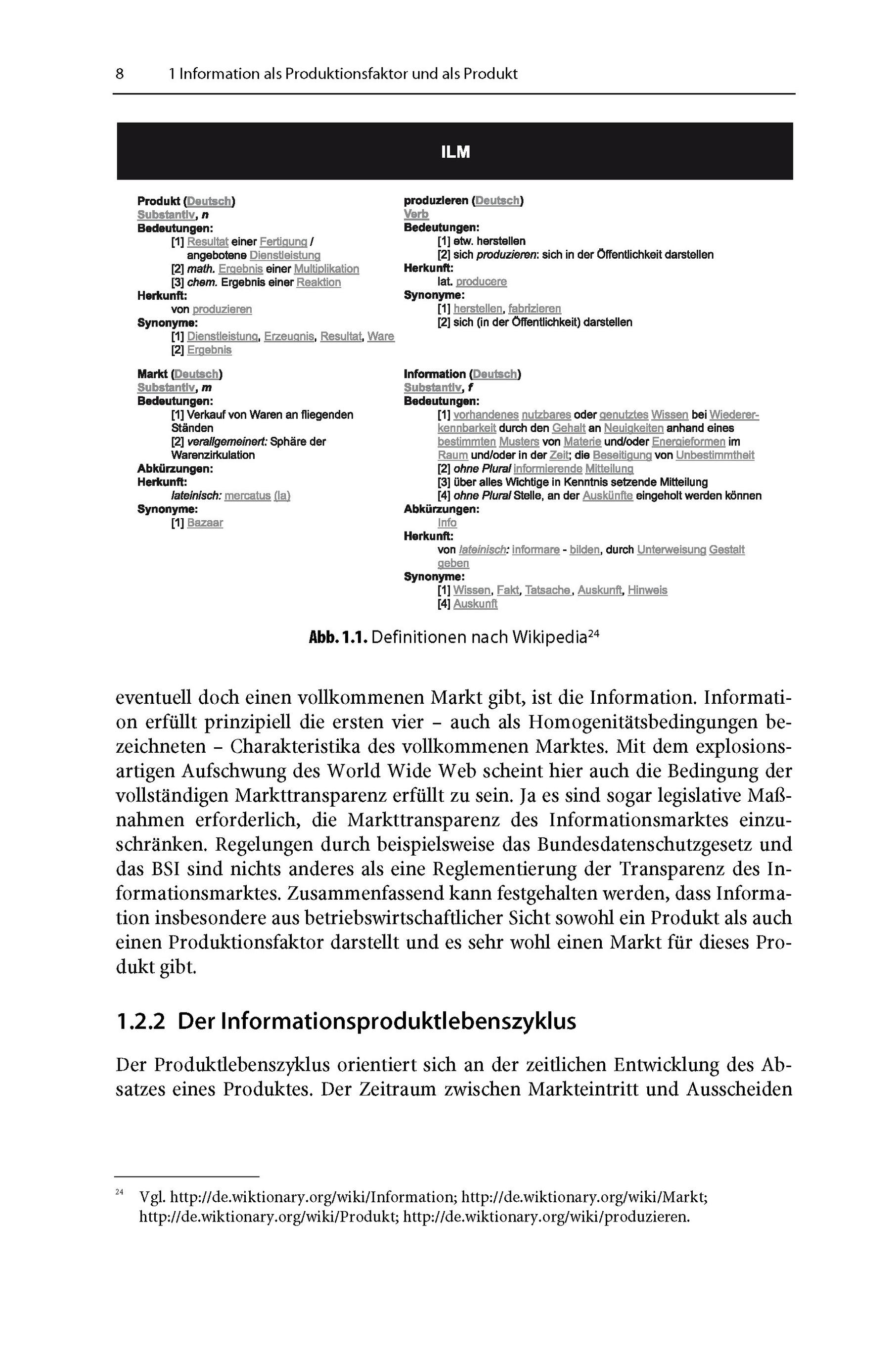Grundlagen und Modelle des Information Lifecycle Management Buch
