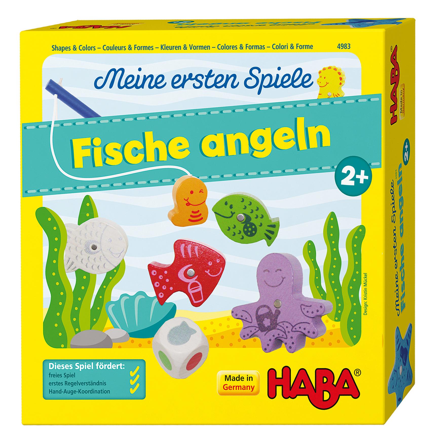 Haba 4983 Meine ersten Spiele Fische angeln | Weltbild.at